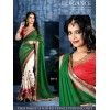 Bollywood Inspired - Party Wear Multi-Colour Georgette Sraee - SN-4