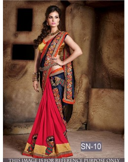 Bollywood Replica -  Designer Multi-Colour Saree - SN-10
