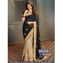 Bollywood Replica - Tamanna Bhatia Designer Black & Beige Saree - SN-516