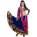 Wedding Wear Blue Lehenga Choli - 234