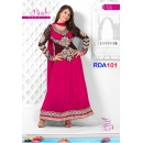 Preeti Jhangiani Arrival Style Pink Ankle Length Anarkali Suit - RDA101-7002 (RD-9032)