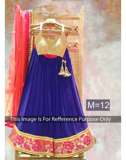 Bollywood Replica-Designer Georgette Embroidered Party wear Lehenga Choli -RDL118-M12(RD-RDL118)