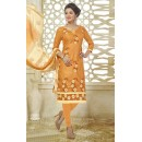 Ethnic Wear Yellow Bhagalpuri Cotton Salwar Suit  - 13733