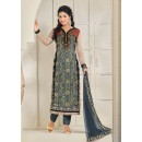 Hina Khan In Multi-Colour Georgette Salwar Suit - 16909