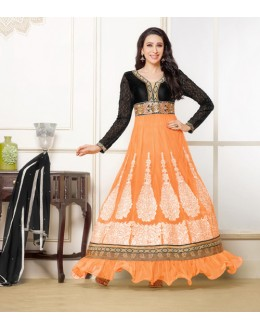 Karishma Kapoor In Net Anarkali Suit  - 16980