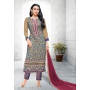 Karishma Kapoor In Multi-Colour Georgette Salwar Suit  - 17170