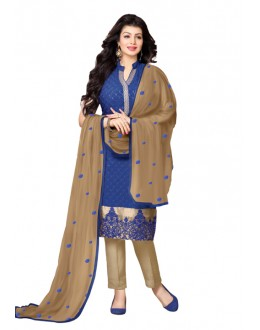 Ayesha Takia In Blue Georgette Salwar Suit  - 17401