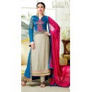 Karishma Kapoor In Multi-Colour Georgette Salwar Suit  - 18125