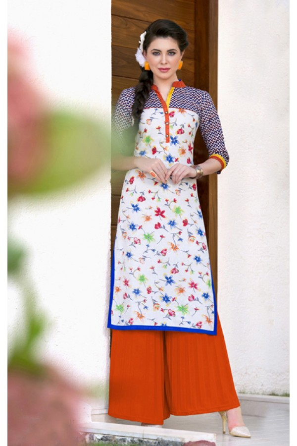 Casual Wear Readymade Cotton Tunic - 18193