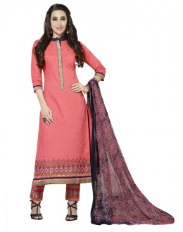 Karishma Kapoor In Peach Salwar Suit - 18347