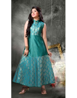 Kids Wear Designer Readymade Rama Gown - 18396