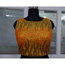 Readymade Yellow Color Net Blouse - 18933