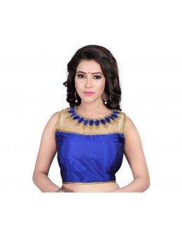 Ethnic Wear Readymade Blue Blouse - 18942