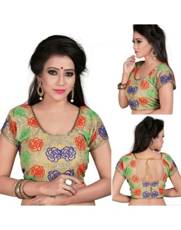 Casual Wear Readymade Multi-Colour Cotton Blouse - 18967
