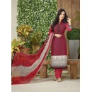 Office Wear Pink Lawn Cotton Salwar Suit - 19026