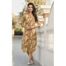 Office Wear Readymade Beige Kurti - 19212