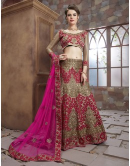 Bridal Wear Multi-Colour Rai dana Lehenga Choli - 19495
