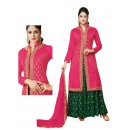 Party Wear Pink Rayon Lehenga - 20518