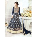 Party Wear Navy Blue Anarkali Suit -22826