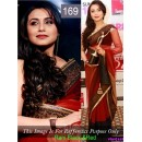 Bollywood Replica - Rani Mukerji Black and Red Color Bollywood Style Saree- 169 (CM-Vol-3)