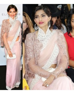 Bollywood Replica - Sonam Kapoor Pink Color Bollywood Style Saree- 177 (CM-Vol-3)