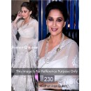 Bollywood Replica - Madhuri dixit White Color Bollywood Style Saree- 230 (CM-Vol-5)