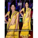 Bollywood Replica - Shilpa shetty Yellow Color Bollywood Style Saree- 247 (CM-Vol-5)