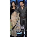 Bollywood Replica - Humaima Black and Off-white Color Bollywood Style Saree- 364 (CM-Vol-11)