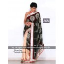 Bollywood Replica - Mandira bedi Black and Beige Color Bollywood Style Saree- 368 (CM-Vol-11)