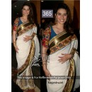 Bollywood Replica - Rageshwari White Color Bollywood Style Saree- 365 (CM-Vol-11)