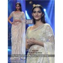 Bollywood Replica - Sonam kapoor Off-white Color Bollywood Style Saree- 359 (CM-Vol-11)