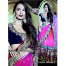 Bollywood Replica - Malaika arora Beautiful In Pink and Black Lehenga- 287 (CM-Vol-7)
