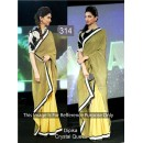 Bollywood Replica - Deepika Padukone Designer Olive Green Party Wear Saree - TM-61 ( TM-6 )