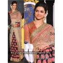 Bollywood Replica - Deepika Padukone Pink Color Bollywood Style Saree- 311 (CM-Vol-8)
