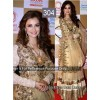 Bollywood Replica - Dia Mirza Gold Color Bollywood Style Lehenga - 304 (CM-Vol-8)
