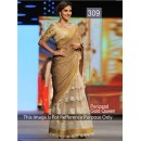 Bollywood Replica - Parizad Gold Color Bollywood Style Lehenga  Saree- 309 (CM-Vol-8)