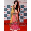 Bollywood Replica - Vidya Pink and Green Color Bollywood Style Lehenga - 305 (CM-Vol-8)