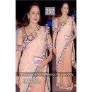 Bollywood Replica - Hema Malini Beautiful In Beige Saree- 252 (CM-Vol-6)
