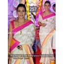 Bollywood Replica - Kajol Beautiful In Off-white Saree- 257 (CM-Vol-6)