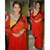 Bollywood Replica - Sonakshi Sinha Beautiful In Red Saree- 251 (CM-Vol-6)