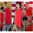 Bollywood Replica - Aishwarya Rai in Sabyasachi Designed Saree at Lifecell Press Meet - 333 (IB-501)