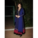 Bollywood Replica - Dia Mirza In Blue Floor Length Anarkali Suit - 17 (IB-444)
