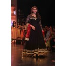 Bollywood Replica - Huma Qureshi in a Black Anarkali Suit - 1045