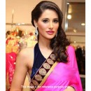 Bollywood Replica - Nargis Fakhri In Designer Pink Saree - 330 (IB-501)