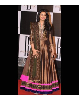 Bollywood Replica - Parineeti Chopra in Brown Anarkali Suits - 21 (IB-444)