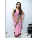 Bollywood Replica - Shraddha Das Beautiful In Pink Embroidery Net Saree - 317 (IB-501)