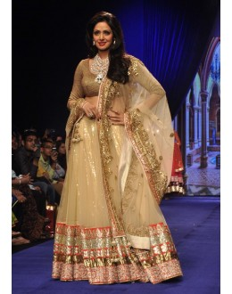 Bollywood Replica - Sridevi in a Bridal Lehenga at IIJW 2014 - 325 (IB-501)