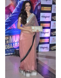 Bollywood Replica - Tabu In Peach Net Designer Saree - 334 (IB-501)