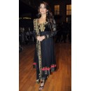 Bollywood Replica - Aishwarya Rai Black Faux Georgette Salwar Suit-MME-7431