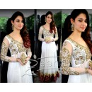 Bollywood Replica - Tamanna Bhatia White Net Embroidered Floor Length Anarkali Suit - TM-78